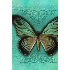 Butterfly Background Vintage Old Grunge 5 5  X 8 5  Notebooks by Amaryn4rt