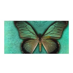 Butterfly Background Vintage Old Grunge Satin Wrap by Amaryn4rt