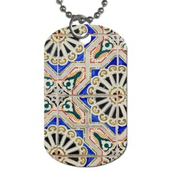 Ceramic Portugal Tiles Wall Dog Tag (one Side) by Amaryn4rt