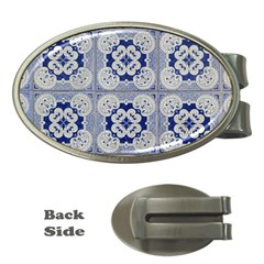 Ceramic Portugal Tiles Wall Money Clips (oval)  by Amaryn4rt