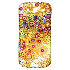 Canvas Acrylic Design Color Samsung Galaxy S3 S Iii Classic Hardshell Back Case