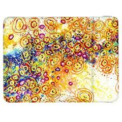 Canvas Acrylic Design Color Samsung Galaxy Tab 7  P1000 Flip Case by Amaryn4rt
