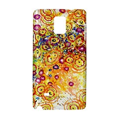 Canvas Acrylic Design Color Samsung Galaxy Note 4 Hardshell Case by Amaryn4rt