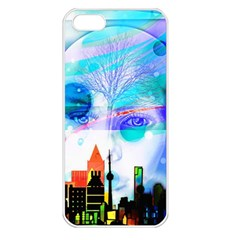 Dirty Dirt Spot Man Doll View Apple Iphone 5 Seamless Case (white) by Amaryn4rt