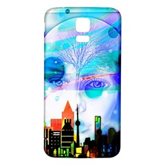 Dirty Dirt Spot Man Doll View Samsung Galaxy S5 Back Case (white) by Amaryn4rt