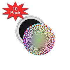 Color Abstract Background Textures 1 75  Magnets (10 Pack)