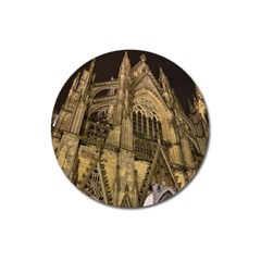 Cologne Church Evening Showplace Magnet 3  (round) by Amaryn4rt