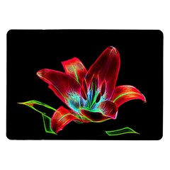 Flower Pattern Design Abstract Background Samsung Galaxy Tab 10 1  P7500 Flip Case by Amaryn4rt