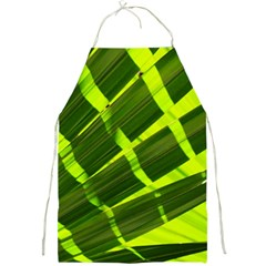 Frond Leaves Tropical Nature Plant Full Print Aprons by Amaryn4rt