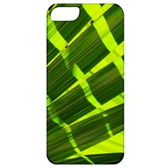 Frond Leaves Tropical Nature Plant Apple Iphone 5 Classic Hardshell Case by Amaryn4rt