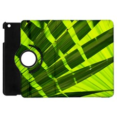 Frond Leaves Tropical Nature Plant Apple Ipad Mini Flip 360 Case by Amaryn4rt