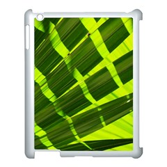Frond Leaves Tropical Nature Plant Apple Ipad 3/4 Case (white) by Amaryn4rt