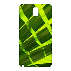 Frond Leaves Tropical Nature Plant Samsung Galaxy Note 3 N9005 Hardshell Back Case by Amaryn4rt
