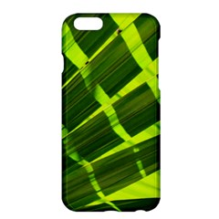 Frond Leaves Tropical Nature Plant Apple Iphone 6 Plus/6s Plus Hardshell Case by Amaryn4rt