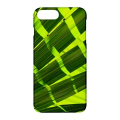 Frond Leaves Tropical Nature Plant Apple iPhone 7 Plus Hardshell Case by Amaryn4rt