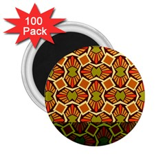 Geometry Shape Retro Trendy Symbol 2 25  Magnets (100 Pack)  by Amaryn4rt