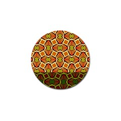 Geometry Shape Retro Trendy Symbol Golf Ball Marker by Amaryn4rt
