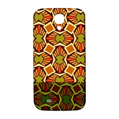 Geometry Shape Retro Trendy Symbol Samsung Galaxy S4 I9500/i9505  Hardshell Back Case