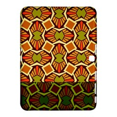 Geometry Shape Retro Trendy Symbol Samsung Galaxy Tab 4 (10 1 ) Hardshell Case  by Amaryn4rt