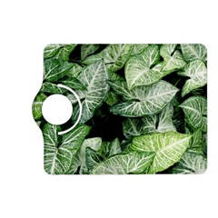 Green Leaves Nature Pattern Plant Kindle Fire Hd (2013) Flip 360 Case by Amaryn4rt