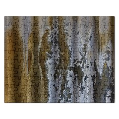 Grunge Rust Old Wall Metal Texture Rectangular Jigsaw Puzzl by Amaryn4rt