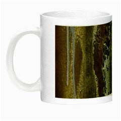 Grunge Rust Old Wall Metal Texture Night Luminous Mugs by Amaryn4rt