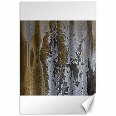 Grunge Rust Old Wall Metal Texture Canvas 20  X 30   by Amaryn4rt