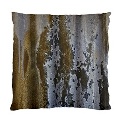 Grunge Rust Old Wall Metal Texture Standard Cushion Case (two Sides) by Amaryn4rt
