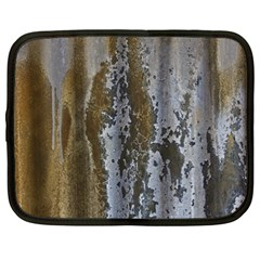 Grunge Rust Old Wall Metal Texture Netbook Case (xxl)  by Amaryn4rt