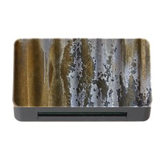 Grunge Rust Old Wall Metal Texture Memory Card Reader With Cf by Amaryn4rt