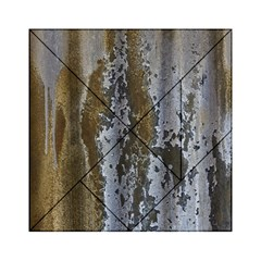 Grunge Rust Old Wall Metal Texture Acrylic Tangram Puzzle (6  X 6 ) by Amaryn4rt