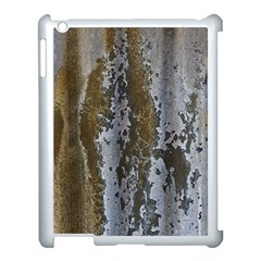 Grunge Rust Old Wall Metal Texture Apple Ipad 3/4 Case (white) by Amaryn4rt