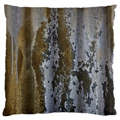 Grunge Rust Old Wall Metal Texture Standard Flano Cushion Case (One Side) by Amaryn4rt