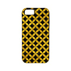 Circles3 Black Marble & Yellow Marble Apple Iphone 5 Classic Hardshell Case (pc+silicone) by trendistuff
