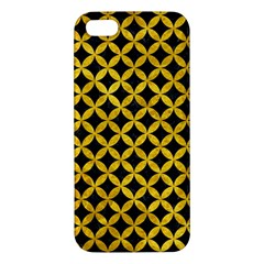 Circles3 Black Marble & Yellow Marble Iphone 5s/ Se Premium Hardshell Case by trendistuff
