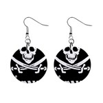 goonies 1  Button Earrings