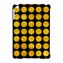 Circles1 Black Marble & Yellow Marble Apple Ipad Mini Hardshell Case (compatible With Smart Cover) by trendistuff