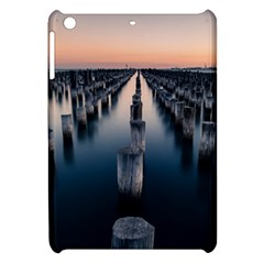 Logs Nature Pattern Pillars Shadow Apple Ipad Mini Hardshell Case by Amaryn4rt