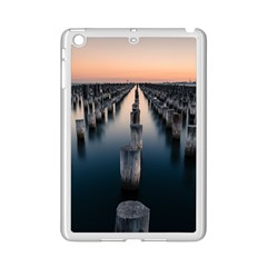 Logs Nature Pattern Pillars Shadow iPad Mini 2 Enamel Coated Cases by Amaryn4rt
