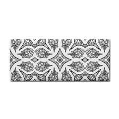 Mandala Line Art Black And White Cosmetic Storage Cases by Amaryn4rt