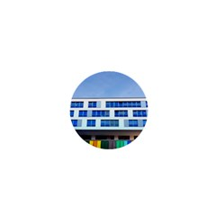 Office Building 1  Mini Magnets by Amaryn4rt