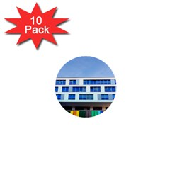Office Building 1  Mini Buttons (10 Pack)  by Amaryn4rt