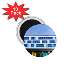Office Building 1.75  Magnets (10 pack)  by Amaryn4rt