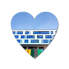Office Building Heart Magnet by Amaryn4rt