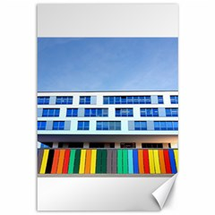 Office Building Canvas 12  X 18   by Amaryn4rt