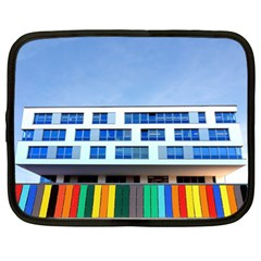 Office Building Netbook Case (xl)  by Amaryn4rt