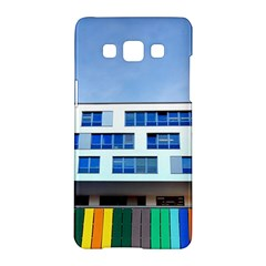 Office Building Samsung Galaxy A5 Hardshell Case  by Amaryn4rt