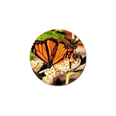 Monarch Butterfly Nature Orange Golf Ball Marker (10 Pack) by Amaryn4rt