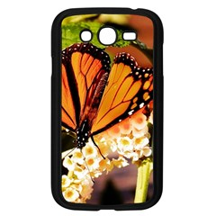Monarch Butterfly Nature Orange Samsung Galaxy Grand Duos I9082 Case (black) by Amaryn4rt