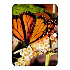 Monarch Butterfly Nature Orange Samsung Galaxy Tab 4 (10.1 ) Hardshell Case  by Amaryn4rt